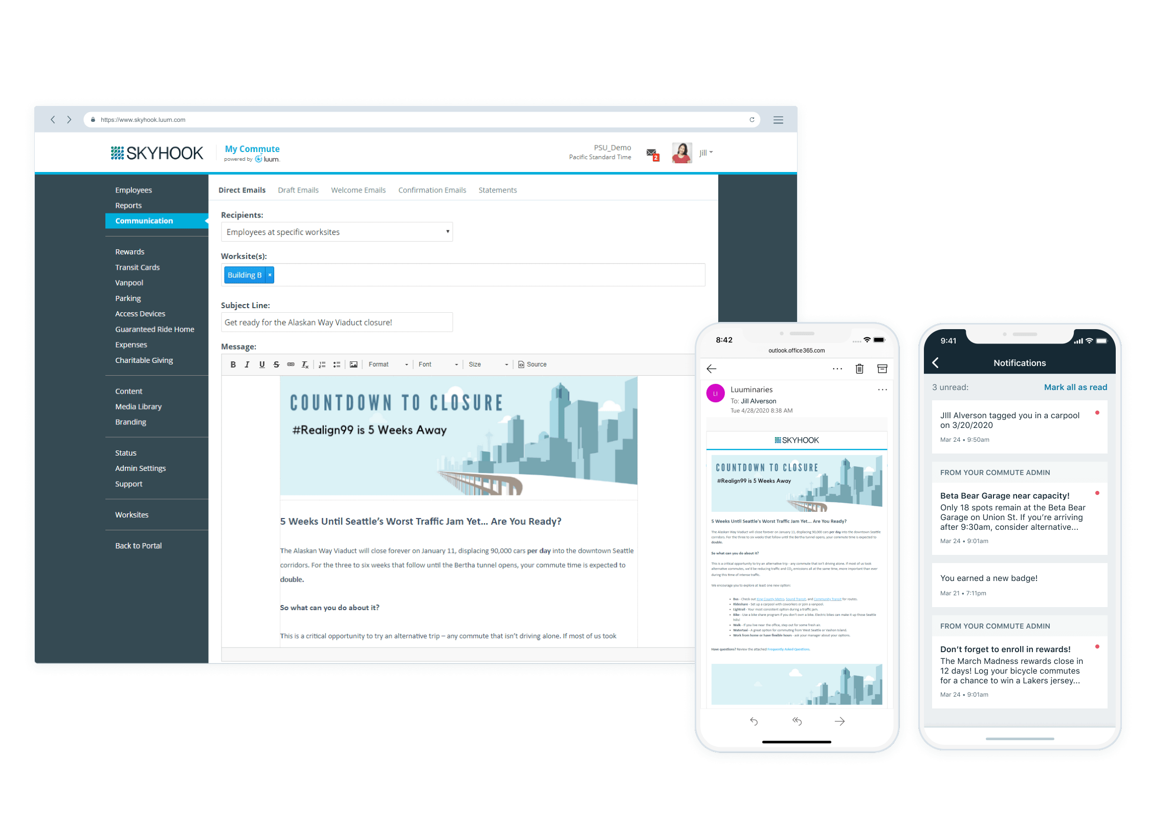 Communication Tools and Notifications